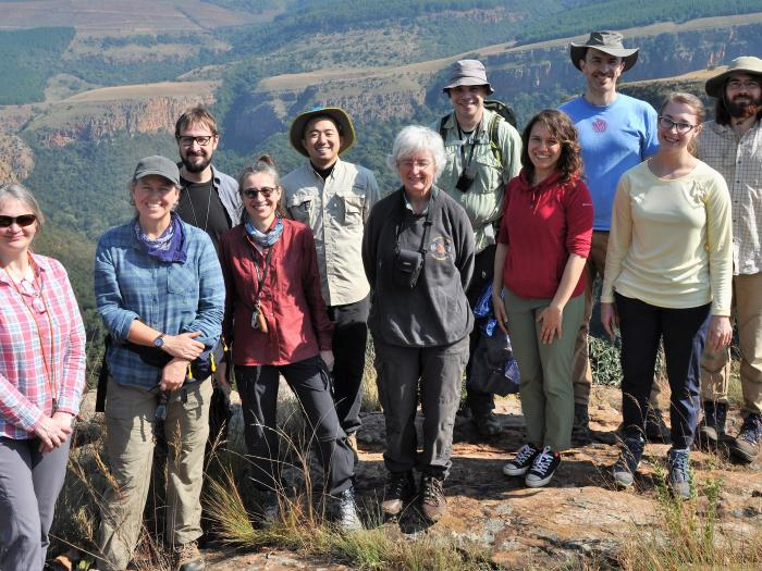 GoLife team and collaborators, Buffelskloof, SA